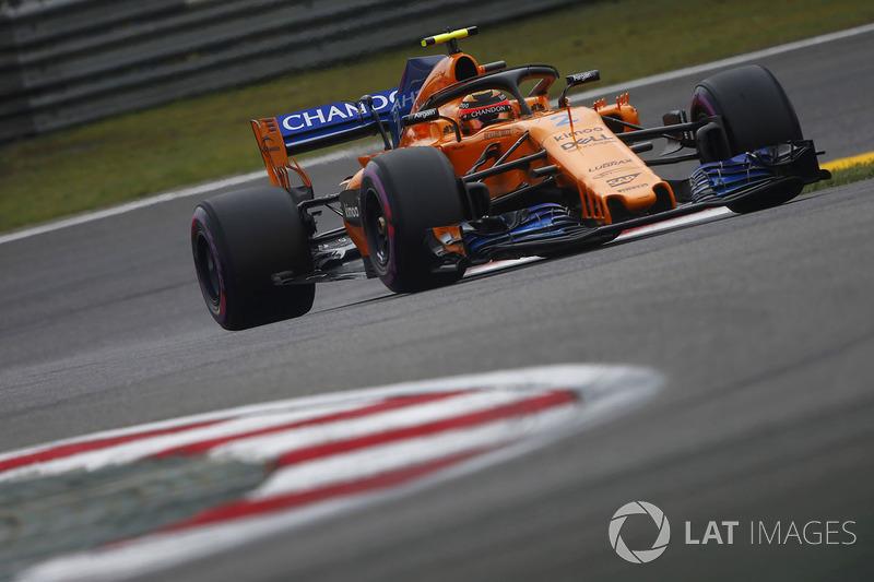 13. Stoffel Vandoorne, McLaren MCL33 Renault