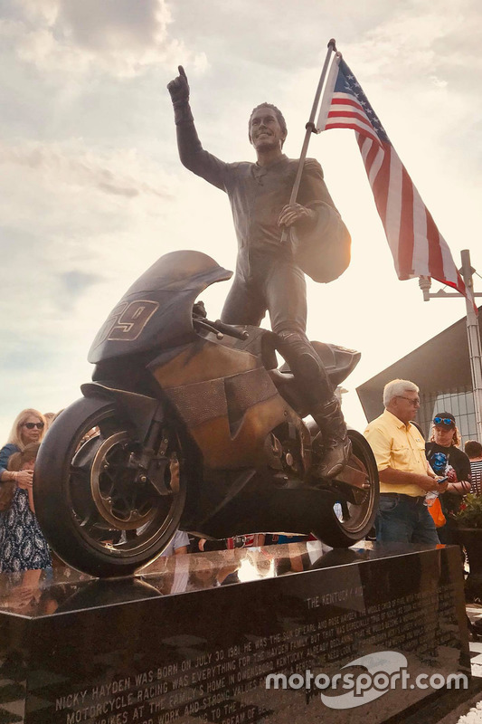 Nicky Hayden Memorial