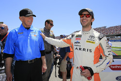 Daniel Suarez, Joe Gibbs Racing, Toyota Camry ARRIS, Joe Gibbs