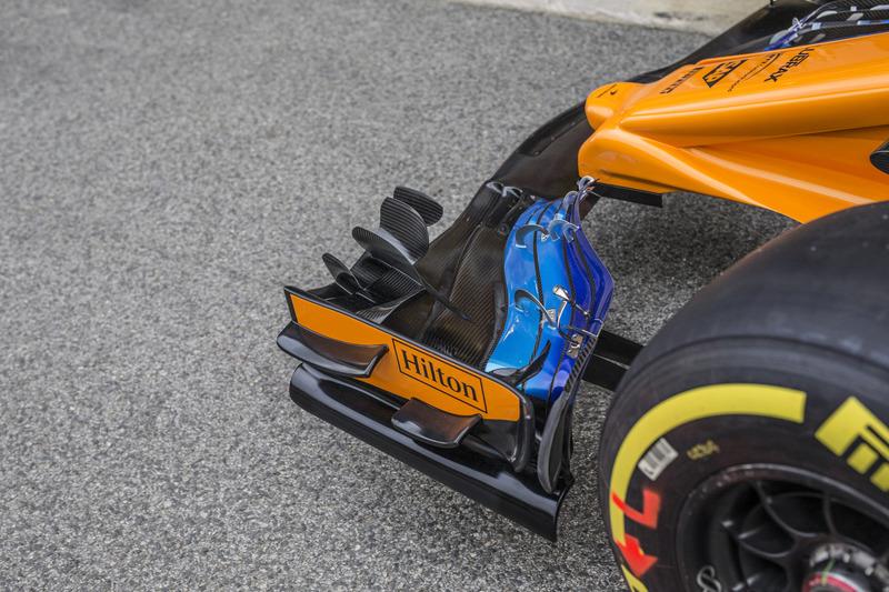 Detail McLaren MCL33