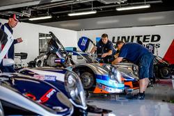 United Autosports team members
