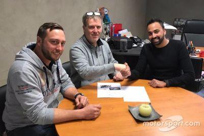 Annonce Nicolas Lathion avec Loeb Racing