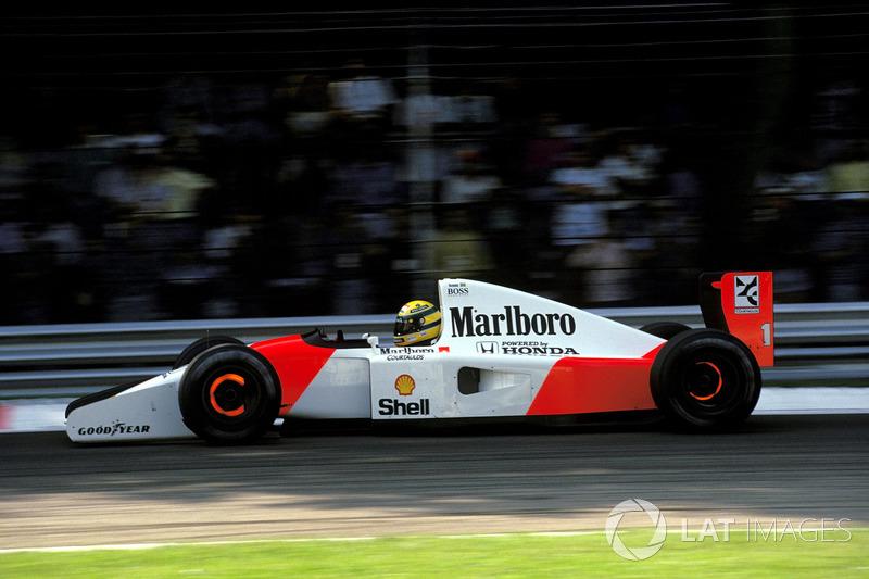 1992 İtalya: McLaren MP4/7A