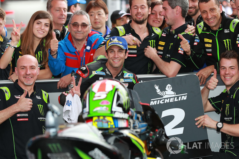 Podium kedua: Johann Zarco, Monster Yamaha Tech 3