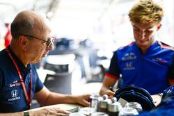 Eric Silbermann en Pierre Gasly, Toro Rosso