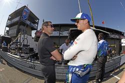 Graham Rahal, Rahal Letterman Lanigan Racing Honda, mit Max Papis