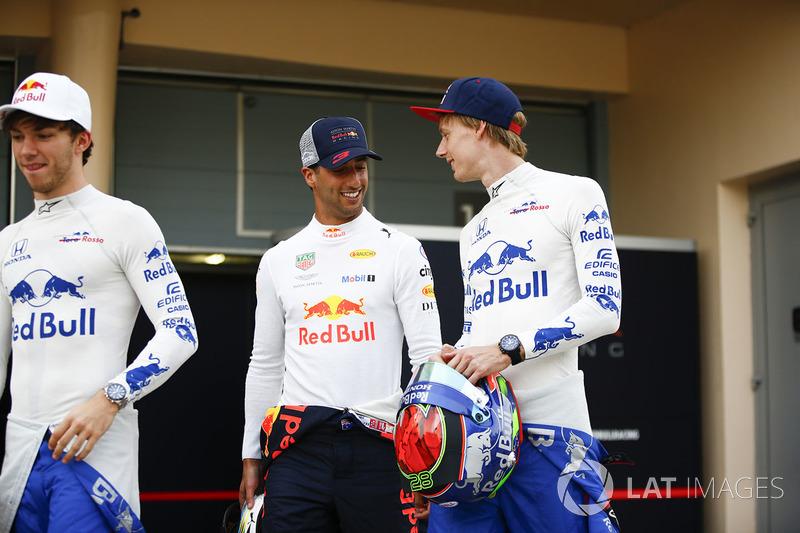 Daniel Ricciardo, Red Bull Racing, Brendon Hartley, Toro Rosso