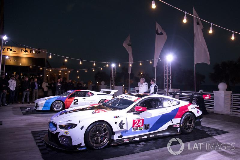 Йенс Марквард, директор BMW Motorsport представив BMW M8 GTE