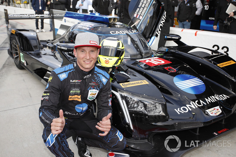 Володар поул-позиції Ренгер ван дер Занде, Wayne Taylor Racing