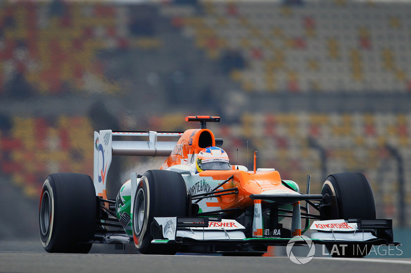 2012 : Force India VJM05-Mercedes