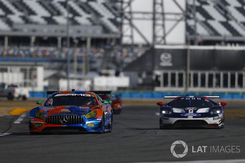 #75 SunEnergy1 Racing Mercedes AMG GT3, GTD: Mikael Grenier, Kenny Habul, Thomas Jäger, Maro Engel