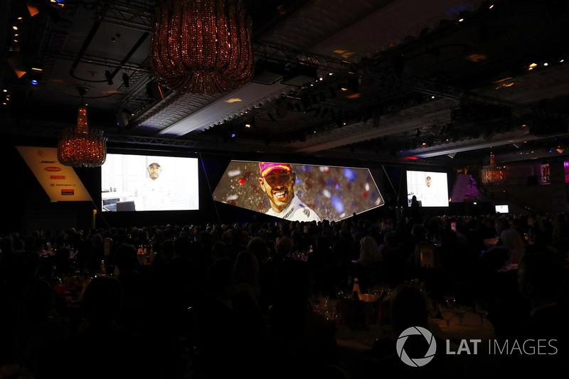 Pilote international de l'année : Lewis Hamilton
