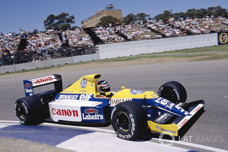 Thierry Boutsen, Williams FW13 Renault