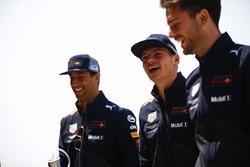 Daniel Ricciardo, Red Bull Racing, e Max Verstappen, Red Bull Racing