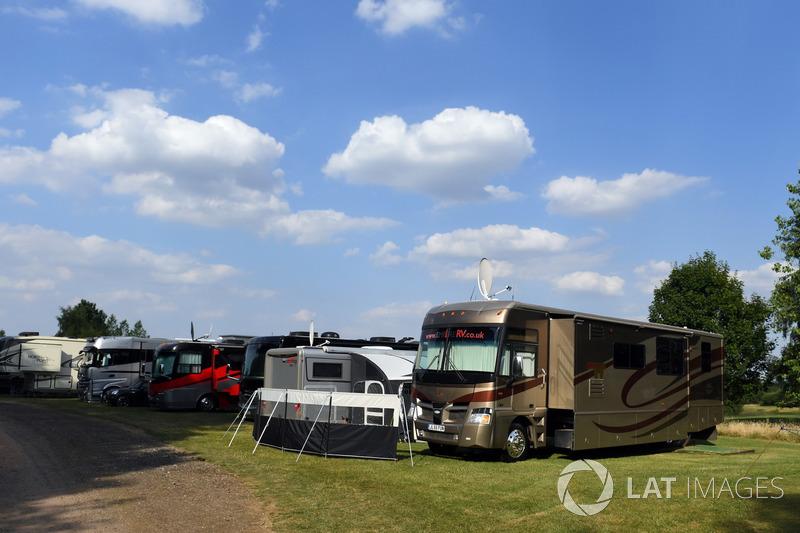 Le village des fans F1 Racing