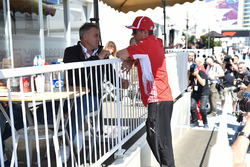 Kimi Raikkonen, Ferrari e Jean Alesi