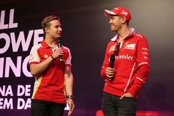 Gianluca Petecof e Sebastian Vettel