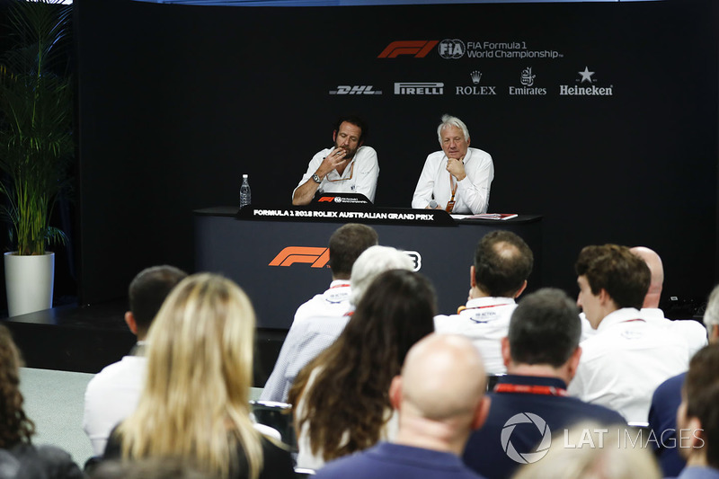 Matteo Bonciani, Media Delegation FIA, dan Charlie Whiting, Race Director, FIA