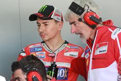 Jorge Lorenzo, Ducati Team, Gigi Dall'Igna, Ducati Team Gerente General
