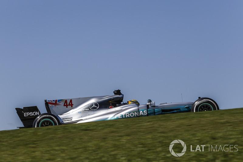 Lewis Hamilton, Mercedes-Benz F1 W08 (0 abandonos)