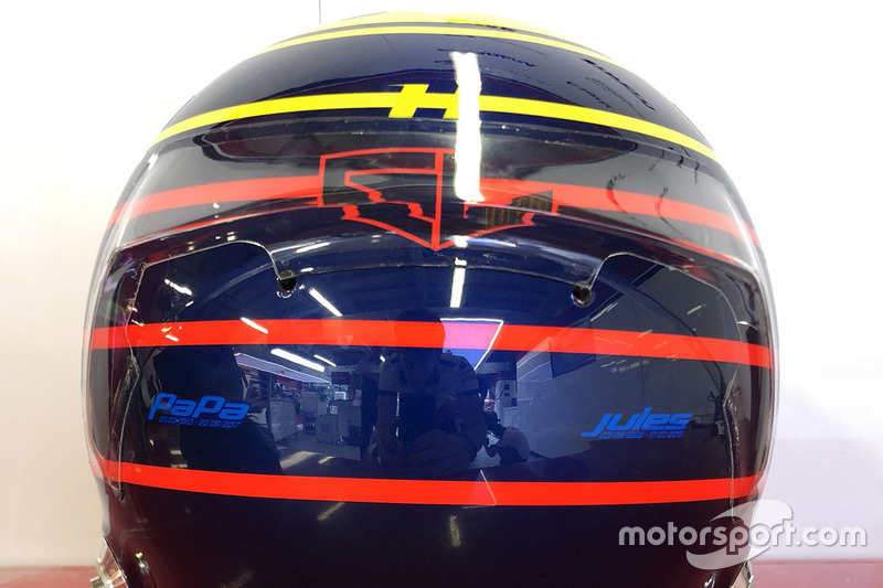 Special helmet for Monaco GP of Charles Leclerc, Sauber