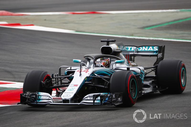 1: Lewis Hamilton, Mercedes AMG F1 W09, 1'16.173
