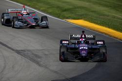 Will Power, Team Penske Chevrolet, Jack Harvey, Michael Shank Racing with SPM Honda