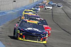 William Byron, Hendrick Motorsports, Chevrolet Camaro AXALTA, Kurt Busch, Stewart-Haas Racing, Ford Fusion Haas Automation/Monster Energy