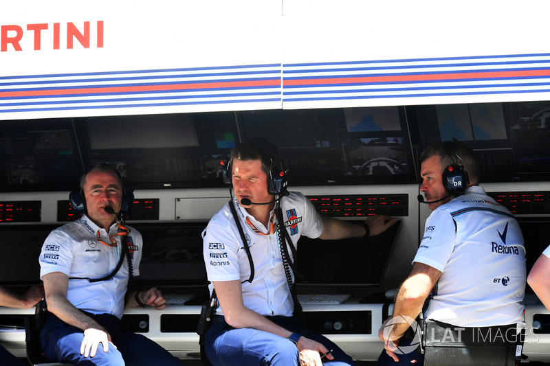 Paddy Lowe, Williams Technical Director, Rob Smedley, Williams Head of Vehicle Performance