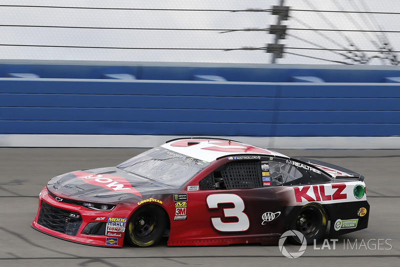 5. Austin Dillon, No. 3 Richard Childress Racing Chevrolet Camaro