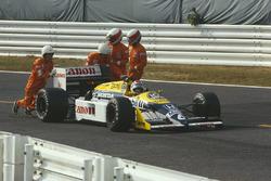 Defekt: Nelson Piquet, Williams FW11B