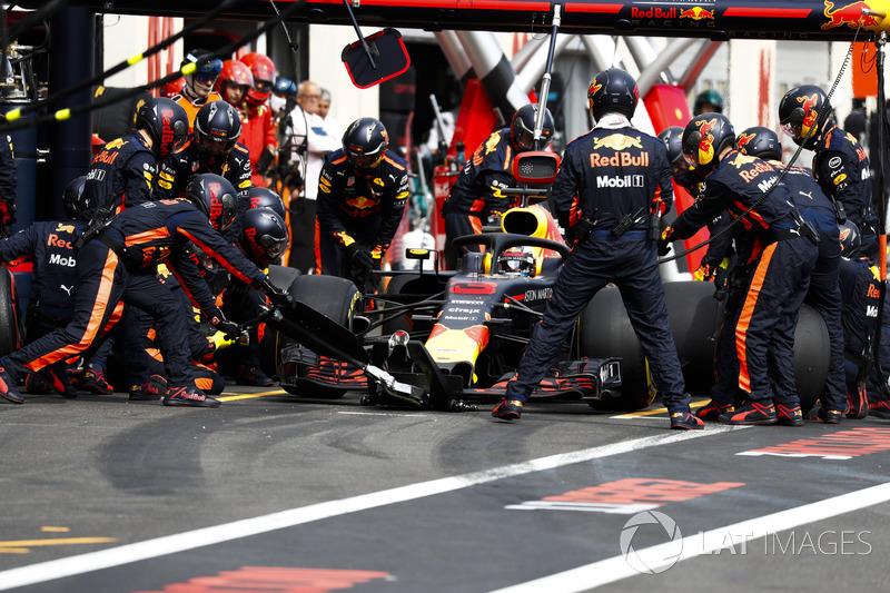 Піт-стоп Даніеля Ріккардо, Red Bull Racing RB14
