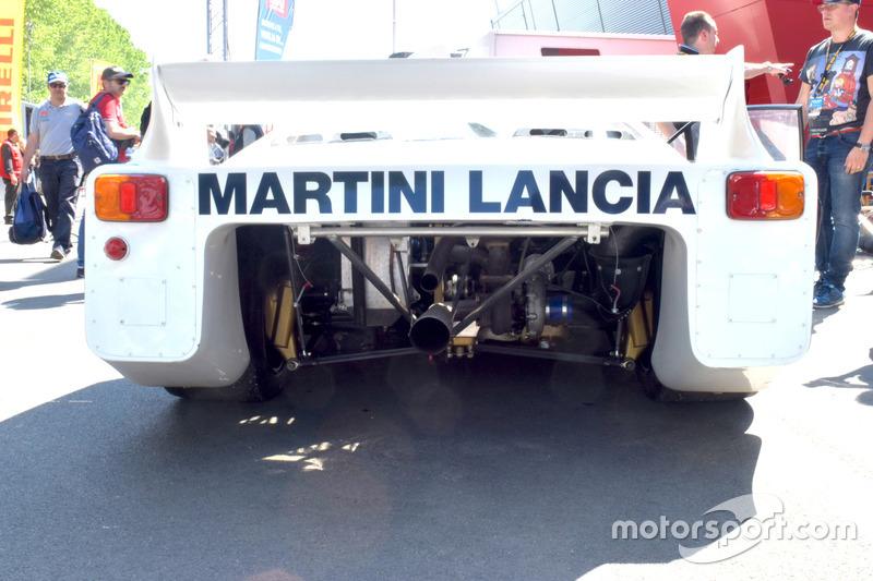 Lancia LC1 1982, dettaglio