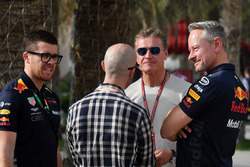 David Coulthard, and Jonathan Wheatley, Red Bull Racing Team Manager