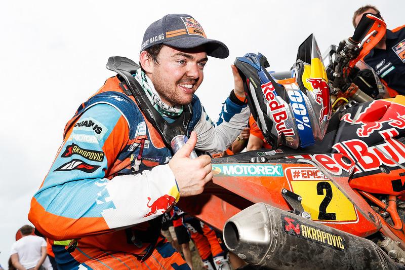 Matthias Walkner,campeão nas motos