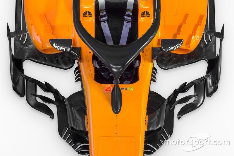 McLaren MCL33 sidepod detay