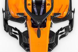 McLaren MCL33 detalle de sidepods