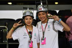 Mercedes AMG F1 fans