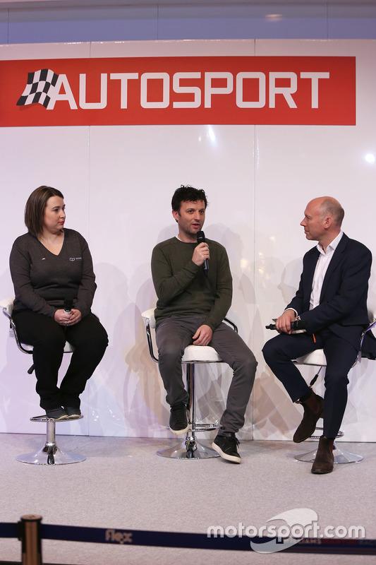 Ella Barrington, Darren Turner, Toby Moody