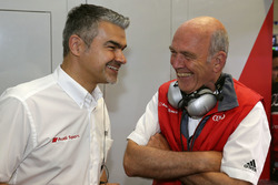 Dieter Gass, Head of DTM Audi Sport and Dr. Wolfgang Ullrich, Head of Audi Sport
