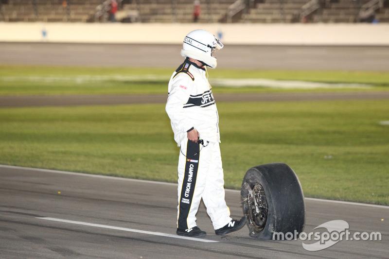 Nach dem Unfall von Timothy Peters, MDM Motorsports Chevrolet