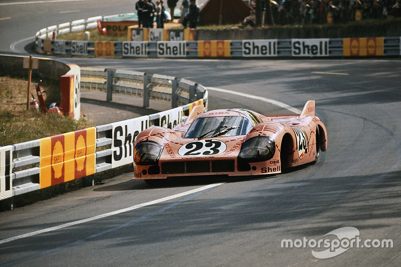 1971 год. Экипаж Вилли Каузена и Райнхольда Йоста, Porsche 917/20 Pink Pig