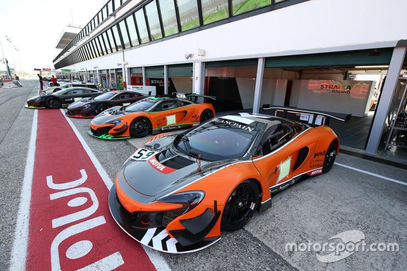 Strakka Racing, McLaren 650S GT3