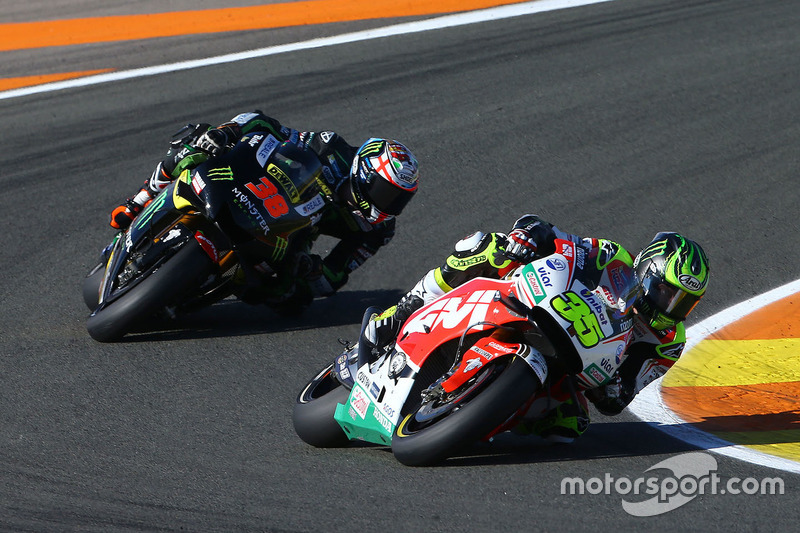 Cal Crutchlow, Team LCR, Honda; Bradley Smith, Monster Yamaha Tech 3