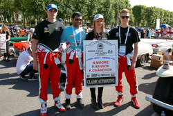 نايجل موور، فيليب هانسون، كارون شاندوك، فريق توكويث موتورسبورت
