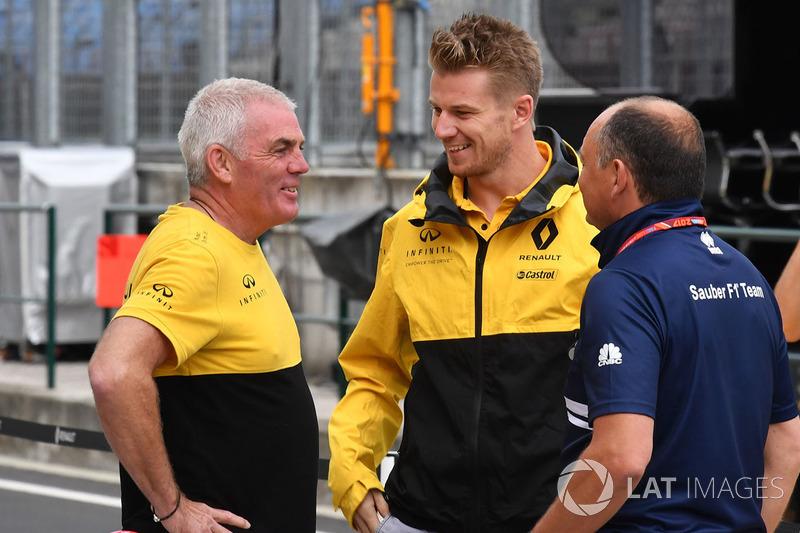 Nico Hulkenberg, Renault Sport F1 Team, Frederic Vasseur, director del equipo Sauber