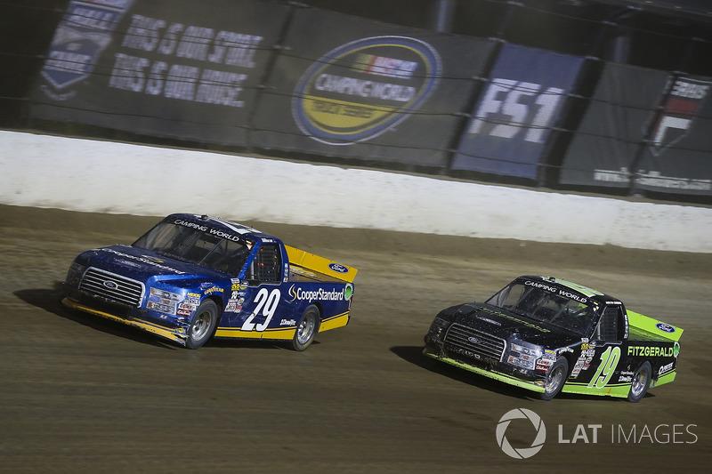 Chase Briscoe, Brad Keselowski Racing Ford, Austin Cindric, Brad Keselowski Racing Ford