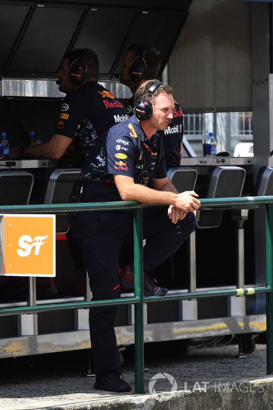 Christian Horner, Red Bull Racing RB13 Team Principal