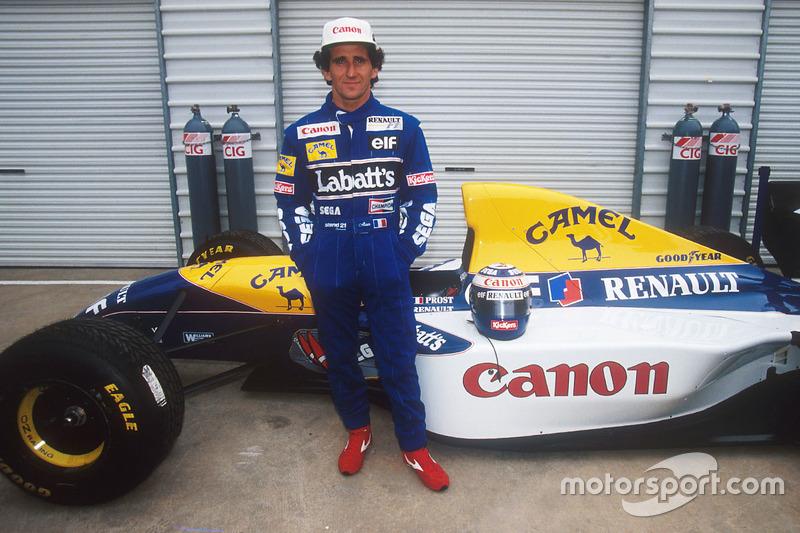 2 - Alain Prost (21 pistas)