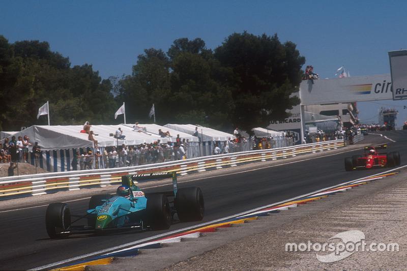 6. Leyton House CG901, Formula 1